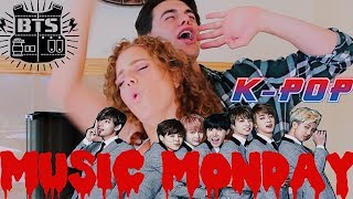 MUSIC MONDAY ♡ REACTING TO BTS '  BIGGEST SONGS & NEW 2018 ALBUM ( K-POP)