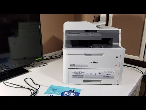 Brother MFC L3710CW Printer Review, Unboxing and Partial Setup