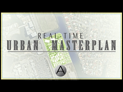 How to Create a Masterplan in Photoshop. (real-time)