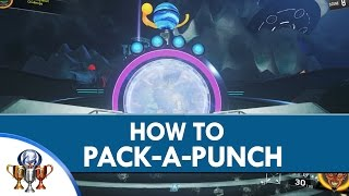 Call of Duty Infinite Warfare Spaceland Zombies - How to Get Pack a Punch Weapons- Get Packed Trophy