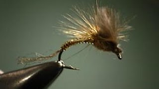 CDC Parachute Emerger fly tying instructions by Shane Stalcup