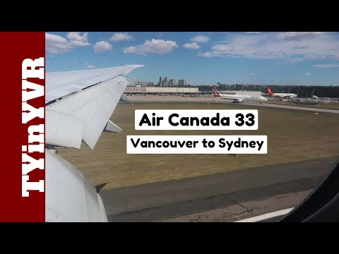 Trip Report Air Canada 33 Vancouver To Sydney B772 (YVR To SYD)