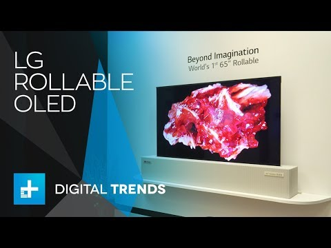 download LG Rollable OLED TV Display - Hands On at CES 2018
