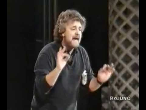 Beppe Grillo - spettacolo in rai [1993] COMPLETO con audio ok