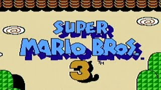 Super Mario Bros. 3 - NES Gameplay