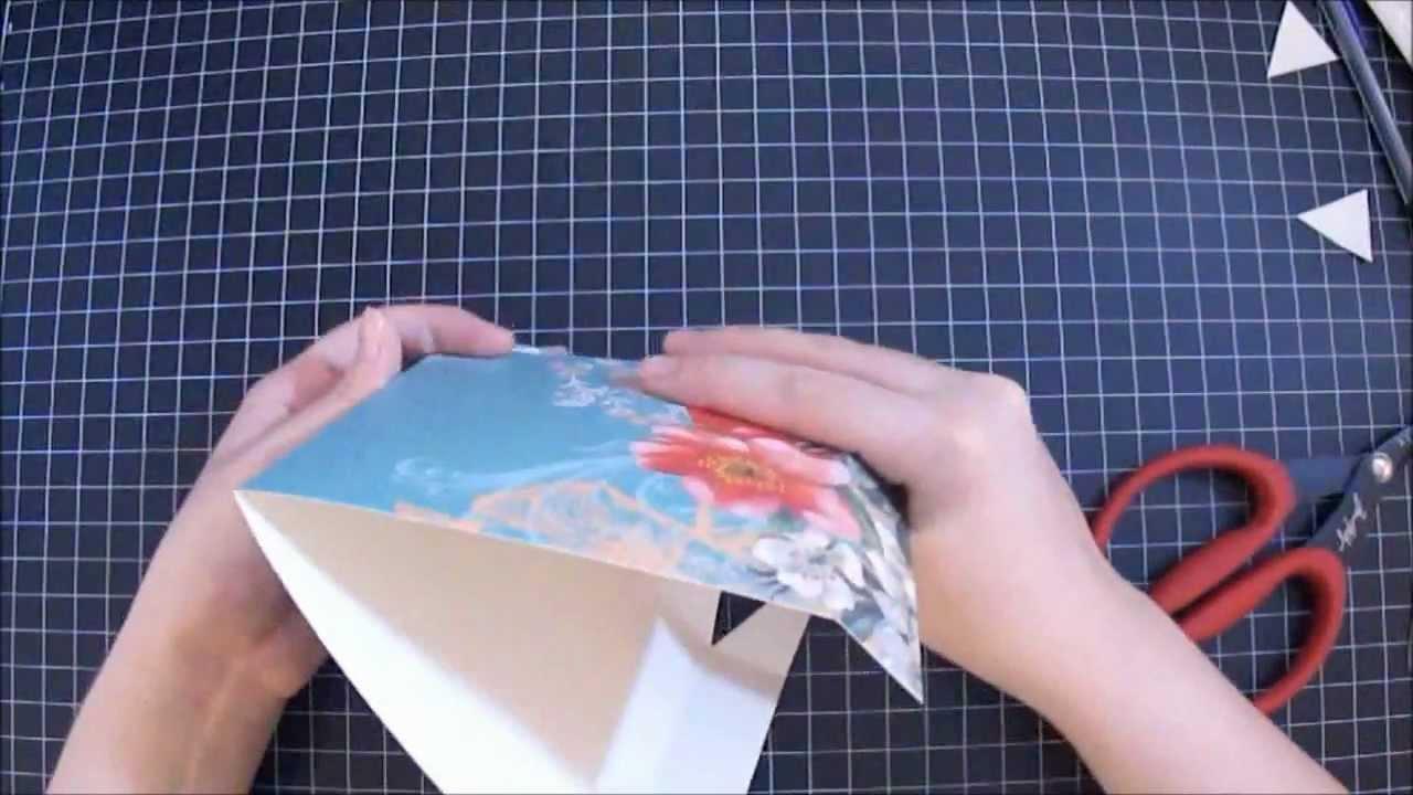 Handmade Cake Box And Card Start To Finish Tutorial Youtube