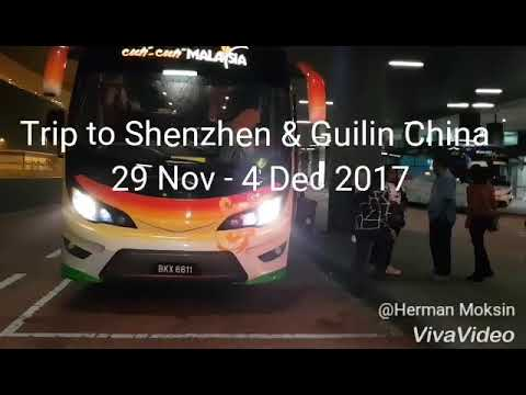 METRO Trip to Shenzhen Guilin Dec 2017 - Part 1