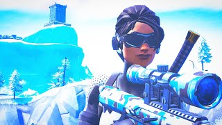 Fortnite - Arctic Assassin Skin & Weapon Wrap Combos + Gameplay!