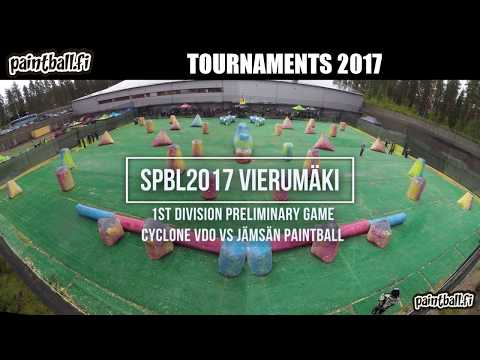 Cyclone VDO vs Jämsän Paintball - SPBL2017 Vierumäki