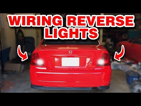 Wiring Up The Reverse Lights | Manual Swap Pt. 10 | Project EM2