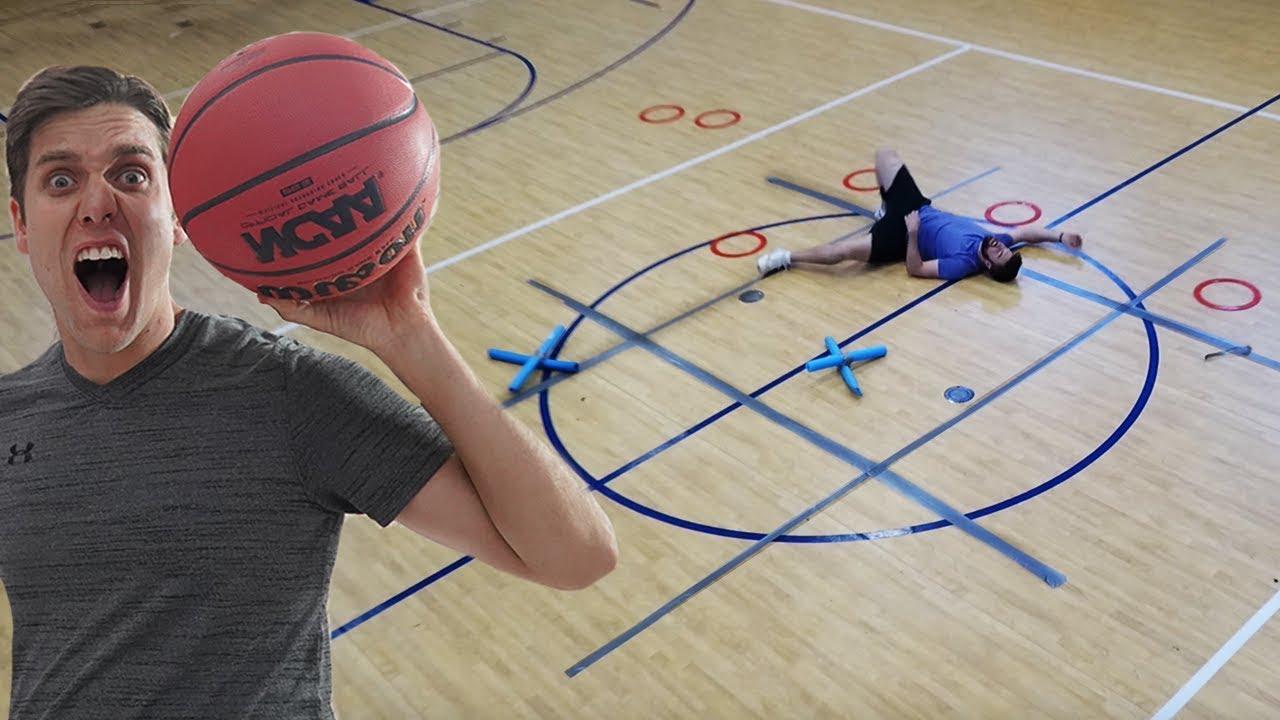 tic tac toe basketball battle