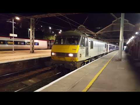 Preston Station  - Night Freight & Sleeper.