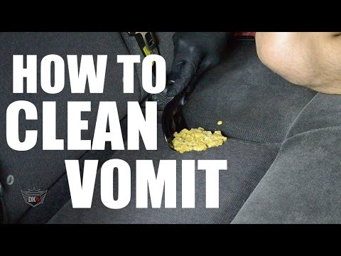 how to clean up vomit in your car youtube. Black Bedroom Furniture Sets. Home Design Ideas