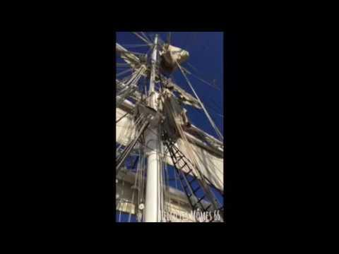 Visite du Belem à Port Vendres par Hello les Mômes