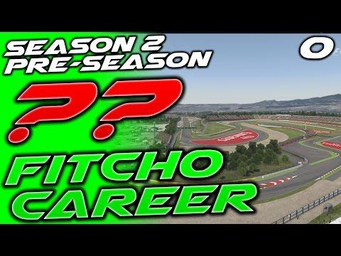 F1 2016 ?? CAREER #0: Pre-Season Testing! | Fitcho Career S2