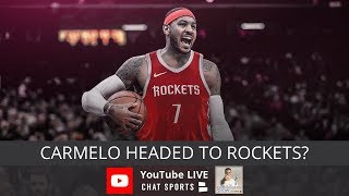 Carmelo Anthony Rumors, Lakers Rumors, Trump vs. Goodell, Tiger Woods Open Championship Recap
