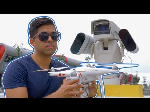 This camera detects and takes down drones | CNBC Reports