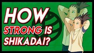 How Strong Is Shikadai Nara In Boruto Naruto Next Generations?