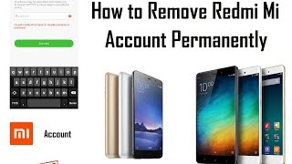 Redmi 4a /4/4X - Bypass Mi Account And Remove Password -Pattern Lock