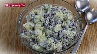Pyszna sałatka ziemniaczana -ogórek, fasolka, koperek :: Skutecznie.Tv [HD]