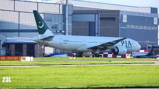 PIA Pakistan International Airlines AP-BGJ B772 PK701 Islamabad To Manchester 16/09/2019