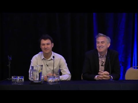IBM's Jesse Lund and Stellar's Jed McCaleb answer audience questions at Blockchain West