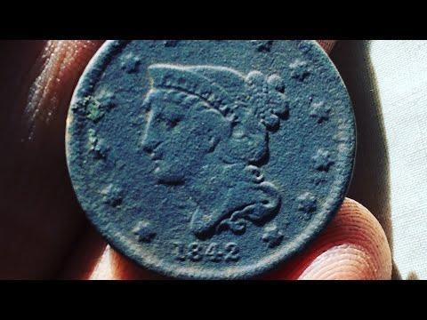 1800's Coins Everywhere!!! Garrett Metal Detecting