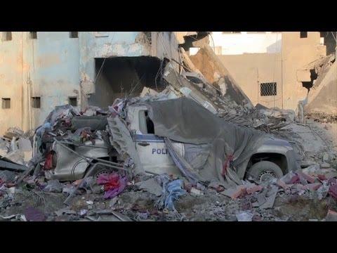 Gaza: un raid israélien détruit un bâtiment de la police