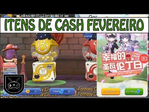 RAG: RAGNAROK MOBILE: ITENS DE CASH FEVEREIRO 2018 (PvP)