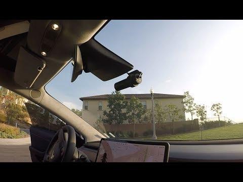 Tesla Model 3 Dashcam Install - Blackvue