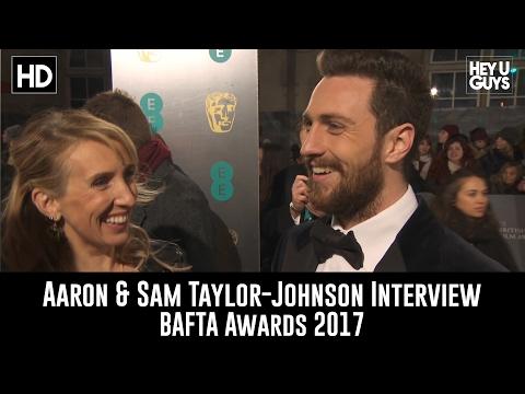 Aaron & Sam Taylor-Johnson Interview - BAFTA Awards 2017