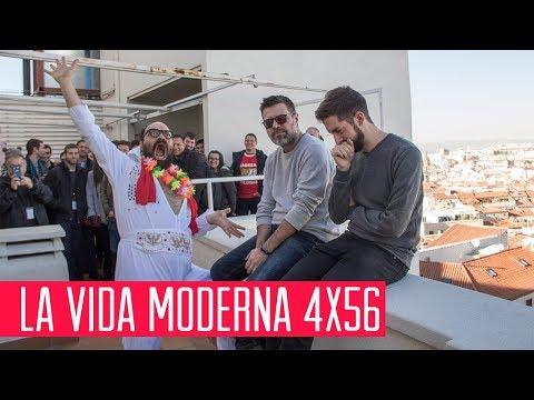La Vida Moderna 4x56...es pedir en el metro tocando air guitar