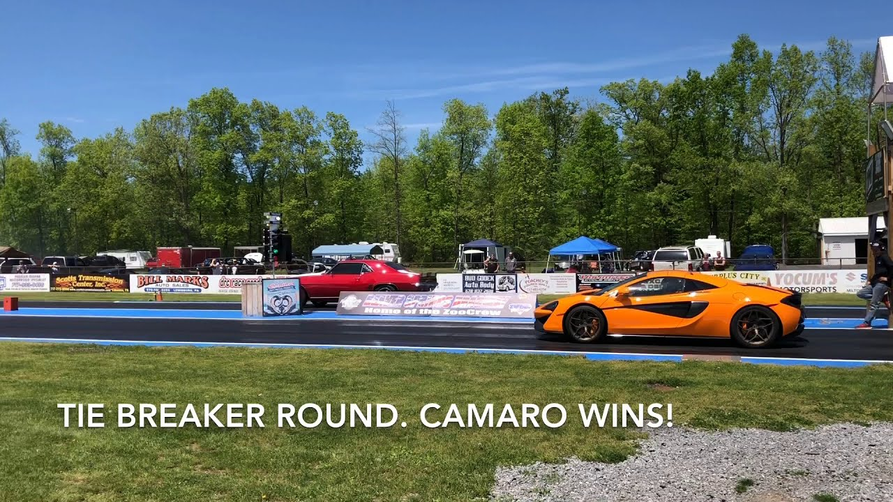 Rematch - 570s Vs 1000hp 1969 Camaro