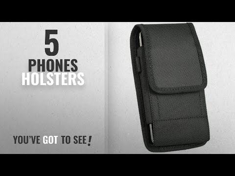 Top 10 Phones Holsters [2018]: iNNEXT iPhone 8 / iPhone 7 6S Vertical Belt Clip Case Holster Belt