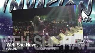 I-Octane - Weh She Have [Invasion Riddim] Jan 2013