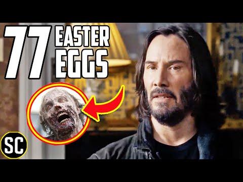MATRIX: Resurrections Trailer: Every Easter Egg + Matrix ZOMBIES Revealed | BREAKDOWN