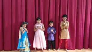 Diwali kids dance at jain temple