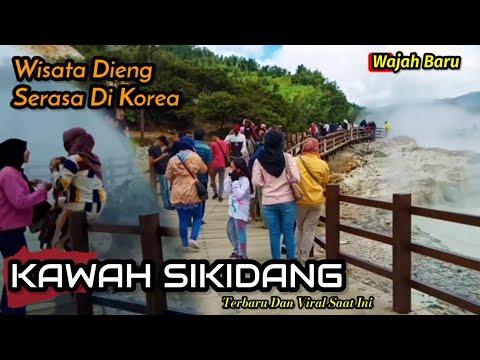 KAWAH SIKIDANG //WISATA DIENG SERASA DI KOREA (Viral)