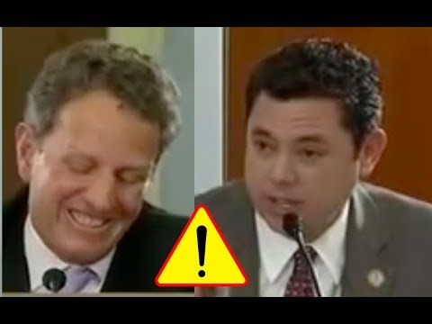 Timothy Geithner Laughs At Jason Chaffetz, Gives Him Attitude and Tells Him How To Do His Job!