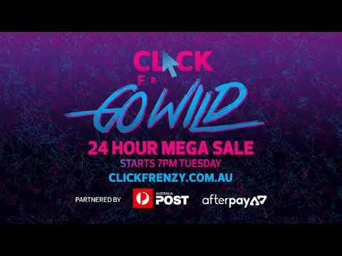 Click Frenzy starts November 14, 2017