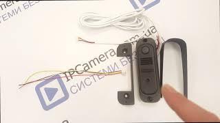 Інтернет Магазин IPcamera.com.ua - Відеодомофон NOUS NV7U