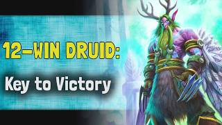 Hearthstone Arena   12-Win Druid: Key to Victory (Descent of Dragons #2)