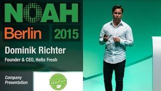 Dominik Richter, HelloFresh - NOAH15 Berlin