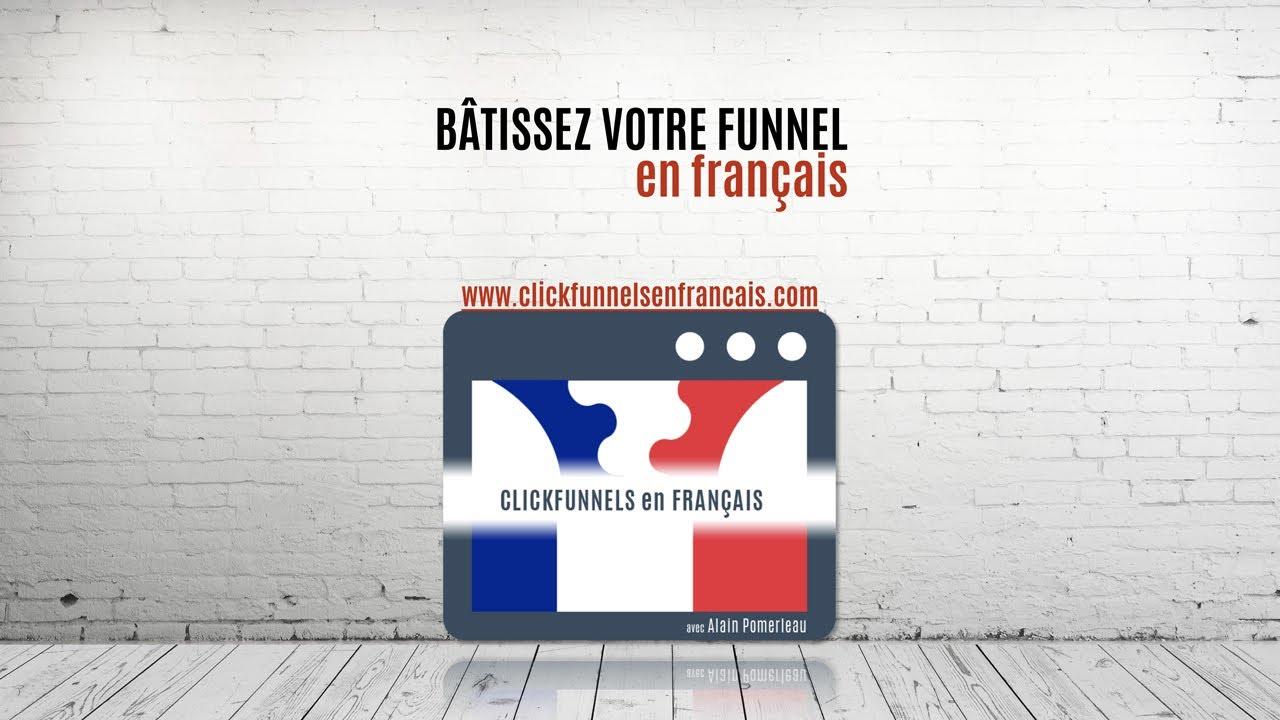 Apprenez Clickfunnels en français