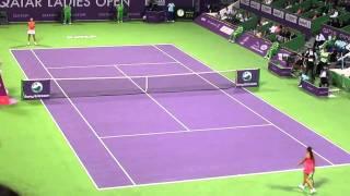 Doha Open2011- Semi FInal [Caroline Wozainaki Vs Marion Bartoli] Thumbnail