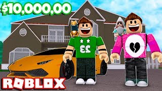 WE BUY A MANSION WITH ROVI Cerso roblox in Spanish