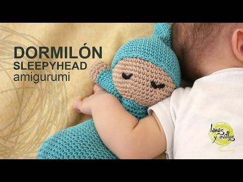 angel tejido a crochet amigurumi (Parte 1) FunnyDog.TV