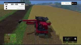 um fazendeiro de sucesso farming simulator 2015 maquina case 7130 e campo nº22
