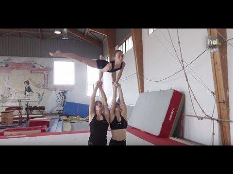 HDL Acróbatos, un club de gimnasia acrobática que brilla en el Campeonato de España