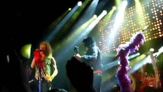 """Hanoi Rocks perform """"Cafe Avenue."""" From the Farewell show on the 11..."""